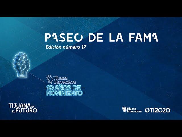 PASEO DE LA FAMA 2020