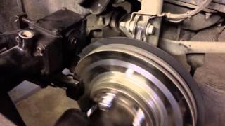Проточка перфорированных тормозных дисков не снимая с автомобиля Pro-Cut