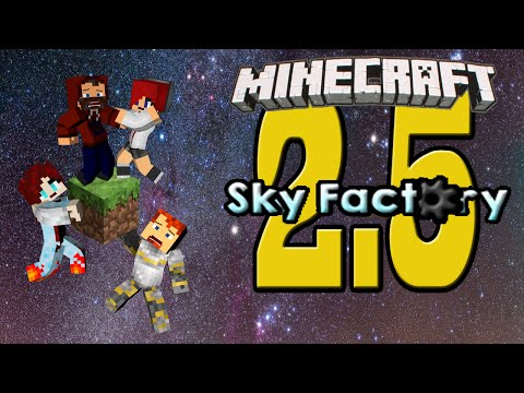I CANT SEE THROUGH THE DEATH POINTS!! Sky Factory 2.5 ep 44 w Modii, Snoop & D'Angelo