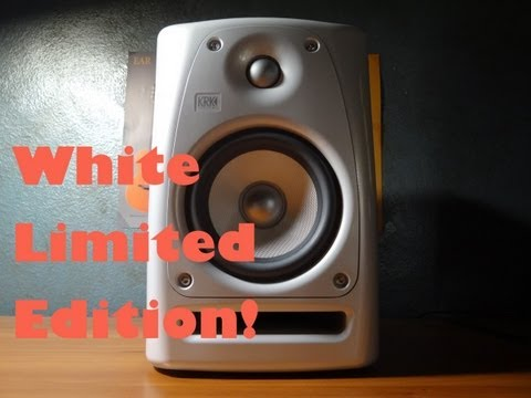 Deboxing WHITE LIMITED Edition KRK RP5 G2 Studio Monitor