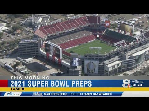 Sarykarmen Rivera  - Inician preparativos para el Super Bowl 2021 en Tampa