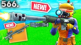 *NEW* HEAVY SNIPER LEAKED GAMEPLAY..!! Fortnite Funny WTF Fails and Dail... video thumbnail