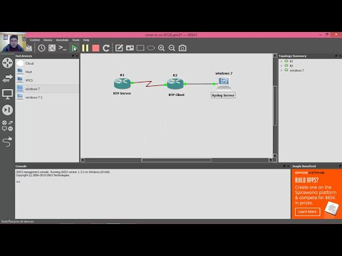 8.1.2.6 Lab - Configuring Syslog and NTP - GNS3