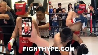pacquiao-s-son-has-first-amateur-fight-throwing-heat-like-legendary-father