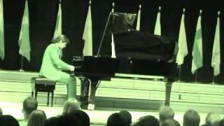 Miguel Garcia - Beethoven's Moonlight Sonata 3rd movemet live in the Luxembourg Philharmonie