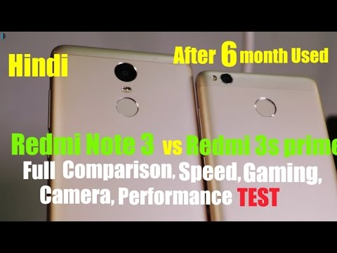 Redmi 3s Prime vs Redmi Note 3 fully Depth Comparison,Speed Test,Gaming,Camera,Performance [Hindi]