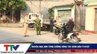 Công an huyện Nga Sơn tăng cường công tác đảm bảo TTATGT.