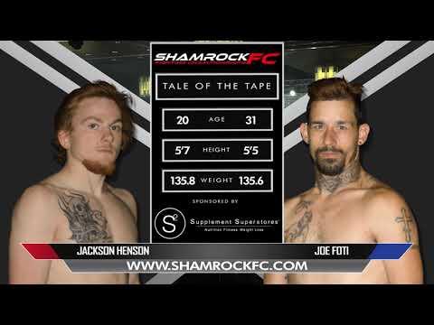 Shamrock 320 Jackson Henson Vs Joe Foti
