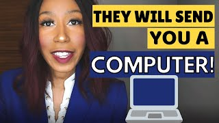 Work At Home Companies That Send you Free Equipment!