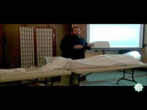 Workshop on Jinazah (Washing the Deceased) - Abdurrahmann Murad