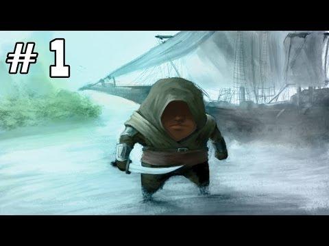Прохождение Assassin's Creed IV: Black Flag - #1 Начало