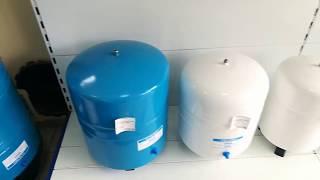 Обзор накопительных баков для воды в комплектации к обратным осмосам. Как выбрать оптимальный бак.