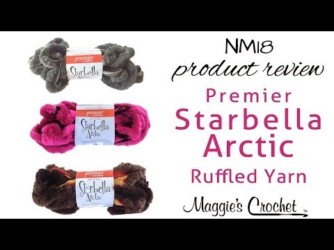 Starbella Artic Ruffled Yarn Product Review NM18