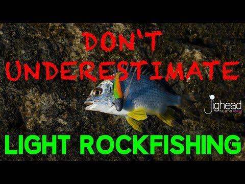 JIGHEAD TV: The power or light Rockfishing - LRF in Dubai