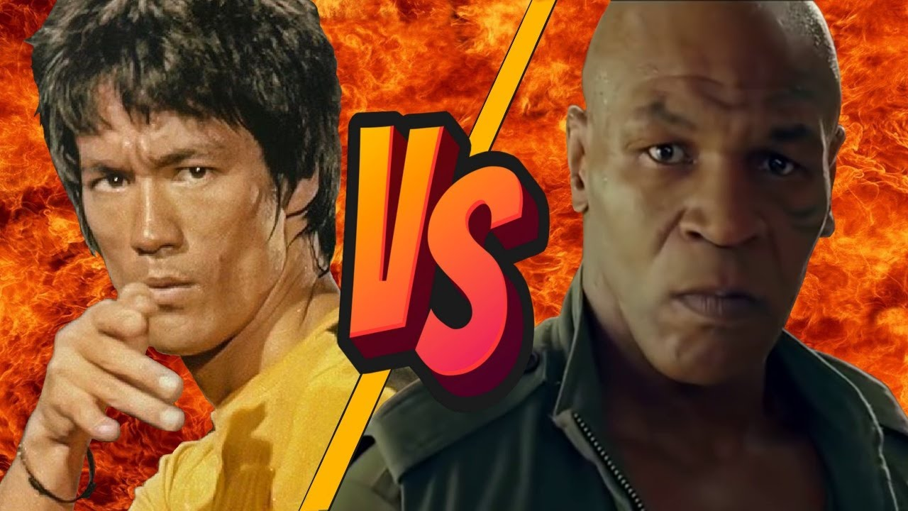 Download BRUCE LEE vs MIKE TYSON