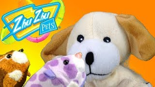 "Zhu Zhu Pets Meet Excite Dog in ""Silly Drilly!"" Toy Drill Goes Crazy"