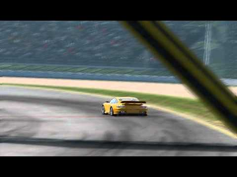 PORSCHE 911 GT2 CRASH