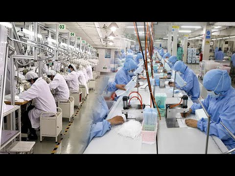 The World Is In Mass Production Of Millions Of Face Masks