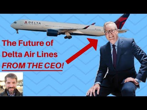 Delta Air Lines' CEO Reveals Delta Airlines' Future