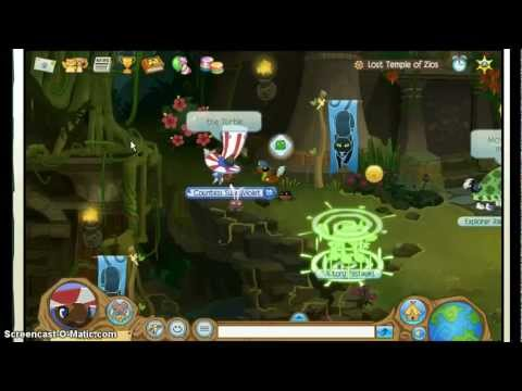 Lost Temple Of Zios Journey Book- Animal Jam