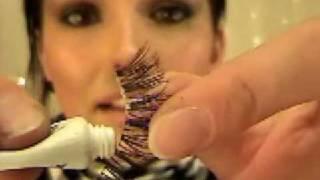 How To Apply False Eyelashes (by Kandee Johnson) | Kandee Johnson