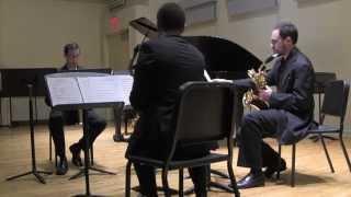 "Manhattan Saxophone Quartet Plays Alex Burtzos's ""The REVIVALIST"""
