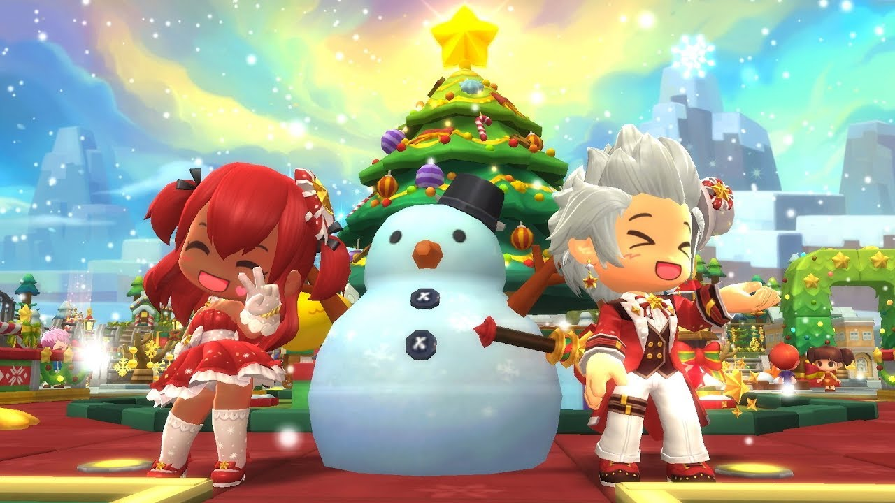 Hair Style Voucher Maplestory 2: MapleStory 2 December Style Crate