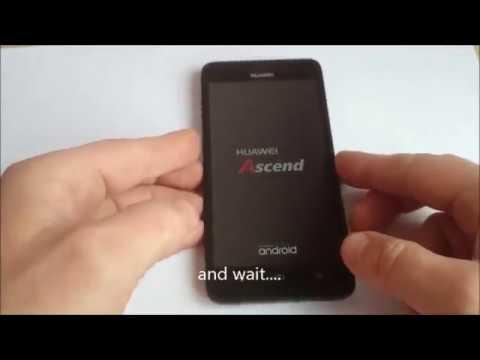 Huawei g620s factory reset