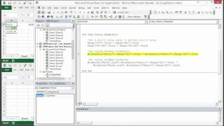 How to Write VBA Macros to Copy and Paste VALUES in Excel - Part 2 of 3