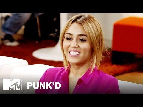 Miley Cyrus Vs. Kelly Osbourne, Khloe Kardashian & Liam Hemsworth   Punk'd
