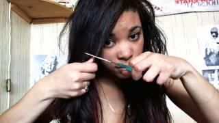 How I cut my own hair !!