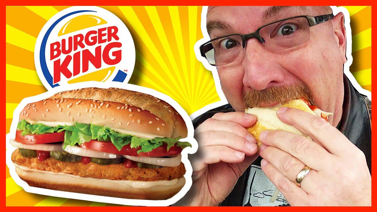 Burger King ???????? Ultimate Original Chicken Sandwich Review ????????