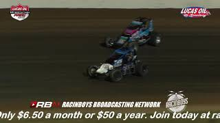 POWRi War Sprint Car League | Lucas Oil Speedway 9/20/18