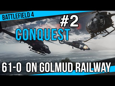61-0 Goldmud Railway | Scout Helicopter Gameplay #02