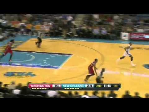Washington Wizards vs New Orleans Hornets 12/11/12