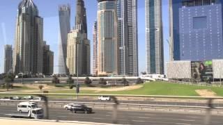 Dubai Metro, marina area