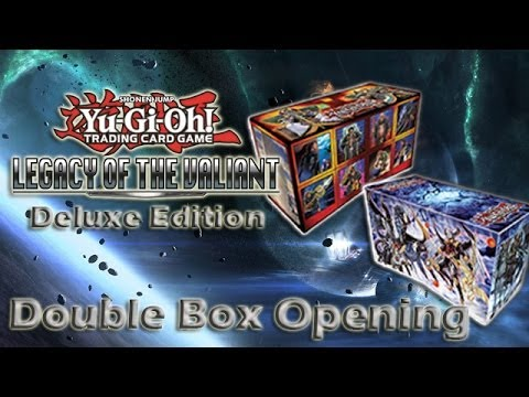Legacy of the Valiant: Deluxe Edition - Double Box Openings