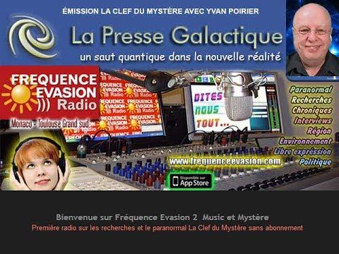 Entrevue du 10 mars dernier avec Yvan Poirier sur Fréquence Évasion Radio, Côte d'Azur, France.