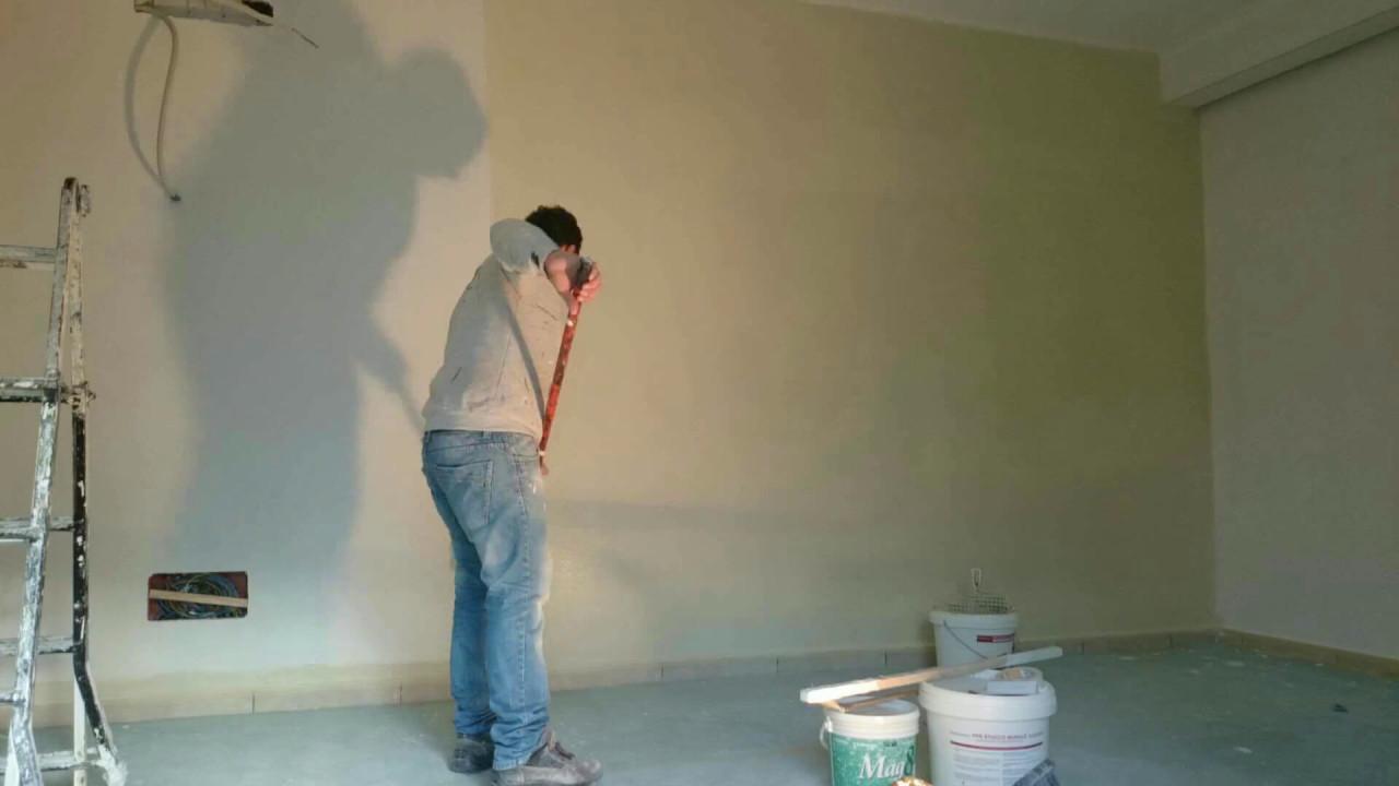 Metodi Per Pitturare Le Pareti.Come Dipingere Una Parete In 15 Secondi Youtube