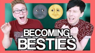 The Newlyfriend Game (ft. AmazingPhil) | Tyler Oakley