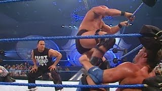 """Stone Cold"" Steve Austin vs. Kurt Angle - WWE Championship Match: SmackDown, March 1, 2001"