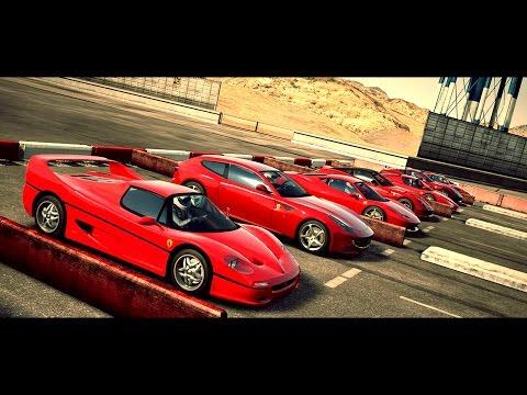 World's Greatest Drag Race! Eight Ferrari's in One Race | Forza Motorsport 4