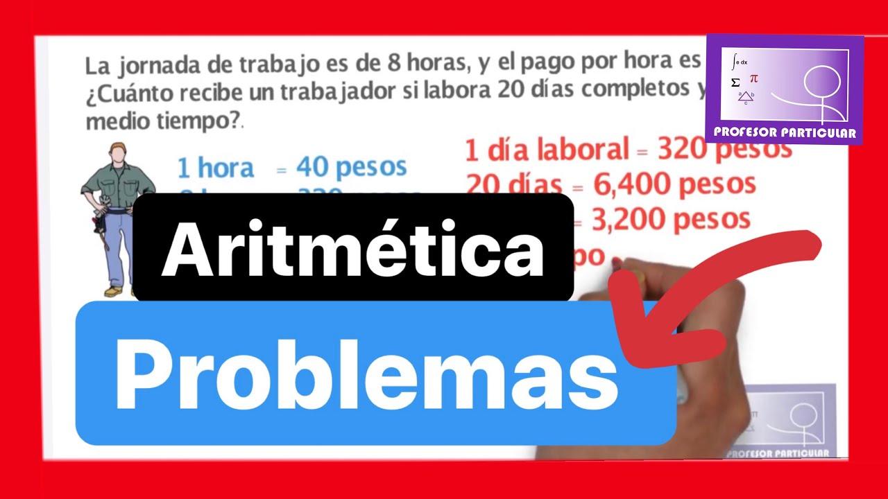 problemas de razonamiento matematico - YouTube