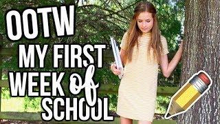 OOTW: My First Week of School 2017!