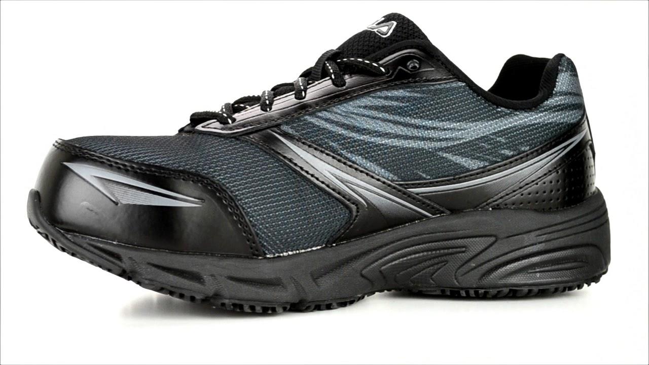29692cb902 Women's Fila Composite Toe Work Shoe 5LM00154-002 @ Steel-Toe-Shoes.com
