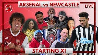Arsenal vs Newcastle | Starting XI Live