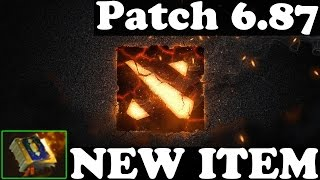 Dota 2 - Patch 6.87 : NEW ITEM - Tome of Knowledge