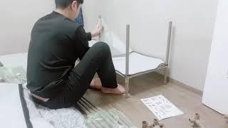 [훈남이의 실구매 평] 윈도우 비키니 옷장 조립식 행거…