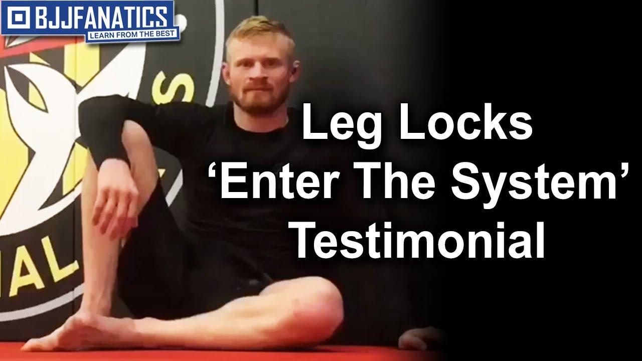 BJJ Testimonial - Leg Locks Enter The System by John Danaher
