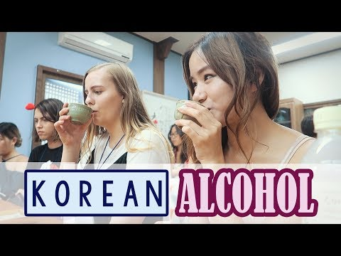 Korea Vlog #2  - Making Korean Food & Alcohol & sightseeing in Jeonju